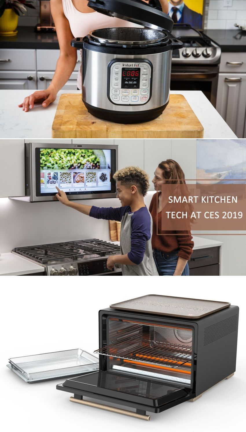 Consumer Electronics Show Saw Everything Right From Google Istant Supported Instant Pots And Smart Oven To Touchless Faucets Food Processors