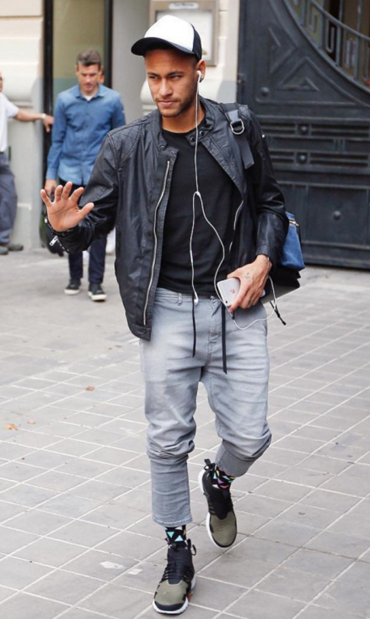 Neymar Nike Acronym Air Presto Mid Sneakers Celebrity Fashion And Style Shoes And Stars