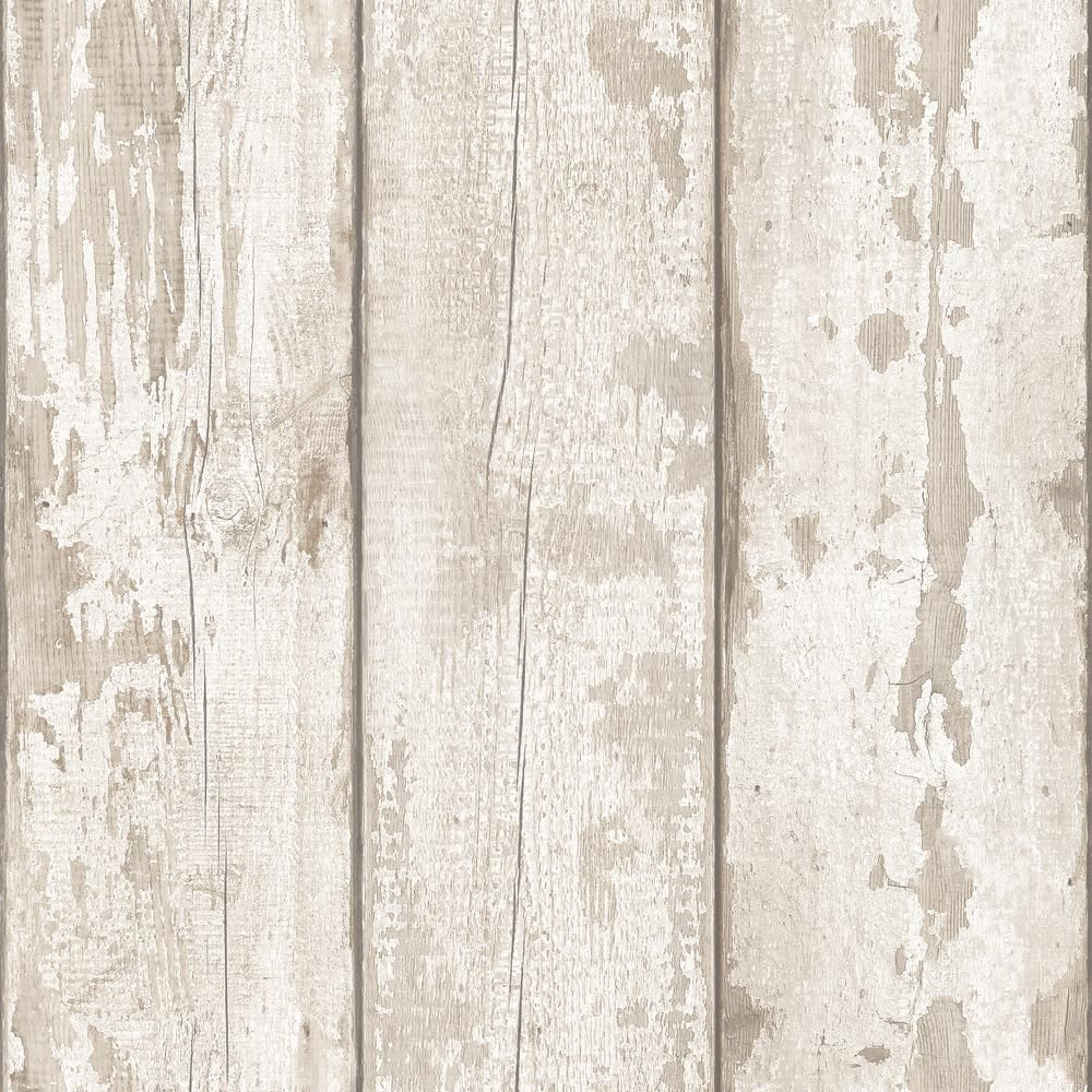 Artistick White Washed Wood Peel And Stick Non Woven Wallpaper 300205 The Home Depot In 2021 Wood Wallpaper Wood Effect Wallpaper White Wood Wallpaper