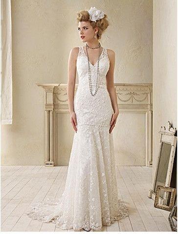 Alfred Angelo \'Modern Vintage\' | Wedding dress, Modern vintage ...