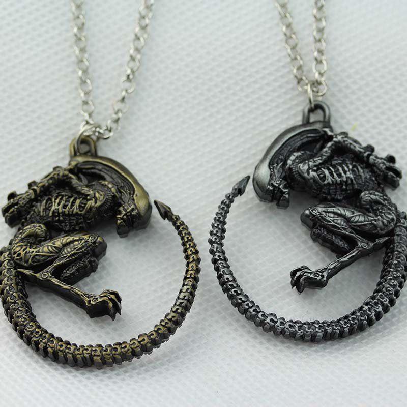 Alien Xenomorph Necklace  Pendant Necklace, Pendants, Womens Accessories