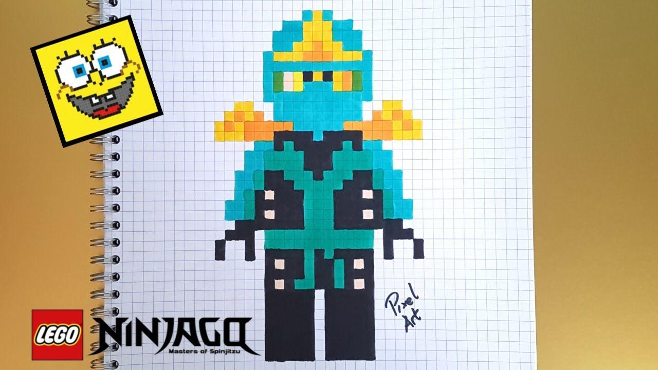 Résultat De Recherche Dimages Pour Pixel Art Ninjago Lloyd