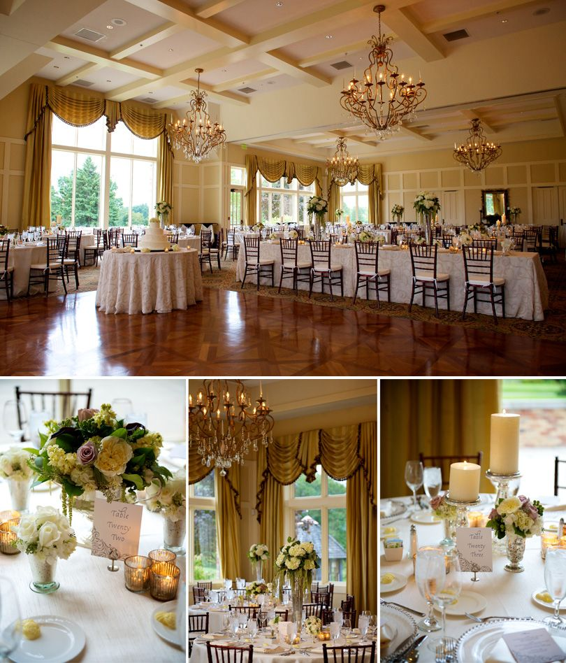 Real Weddings Decorations: Cascade Hills Country Club Wedding Reception. Planning A