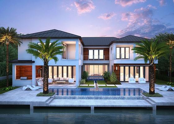 Custom Home Builder Palm Beach Bloomfield Construction Inc Beachfront Homes For Sale African House Custom Home Builders