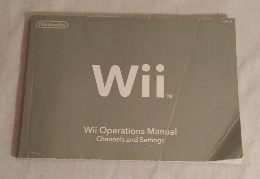 nintendo wii operations manual channels and settings pinterest rh pinterest com wii console manual book wii operations manual troubleshooting unable to read disc