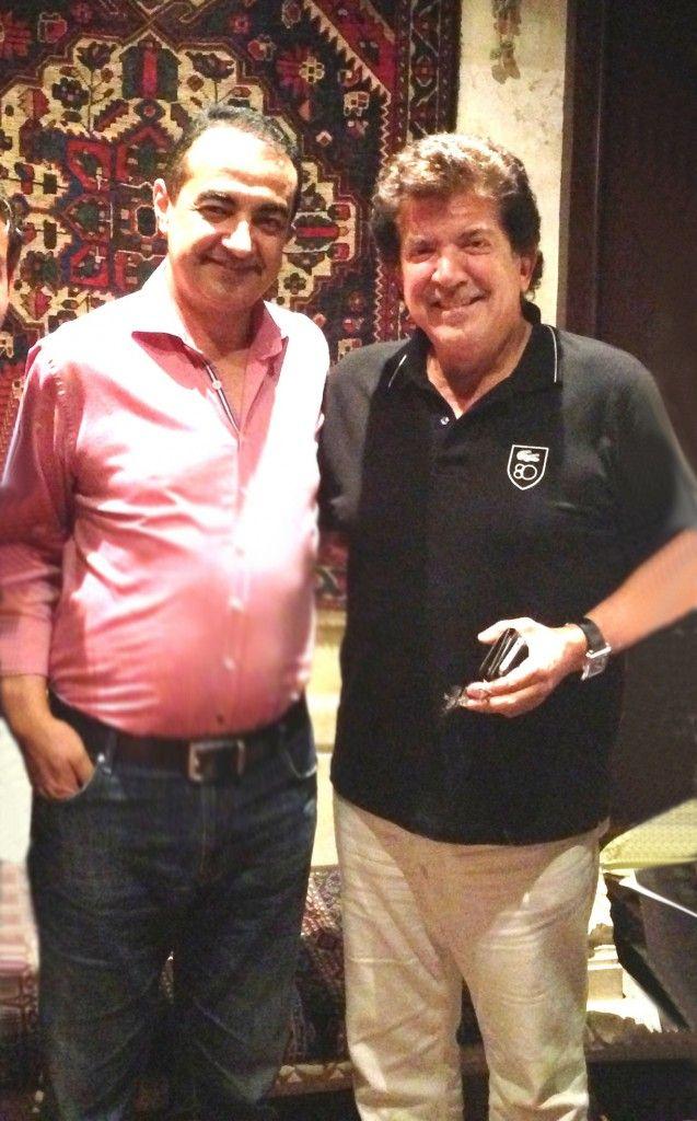Mohamed Dekkak with Lebanese Singer Walid Toufic  Read More: http://adgeco.com/mohamed-dekkak-with-lebanese-singer-walid-toufic/