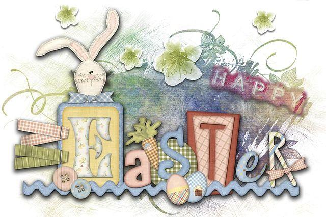 Páscoa, Cartão De Saudação, Criação Digital, Bunny