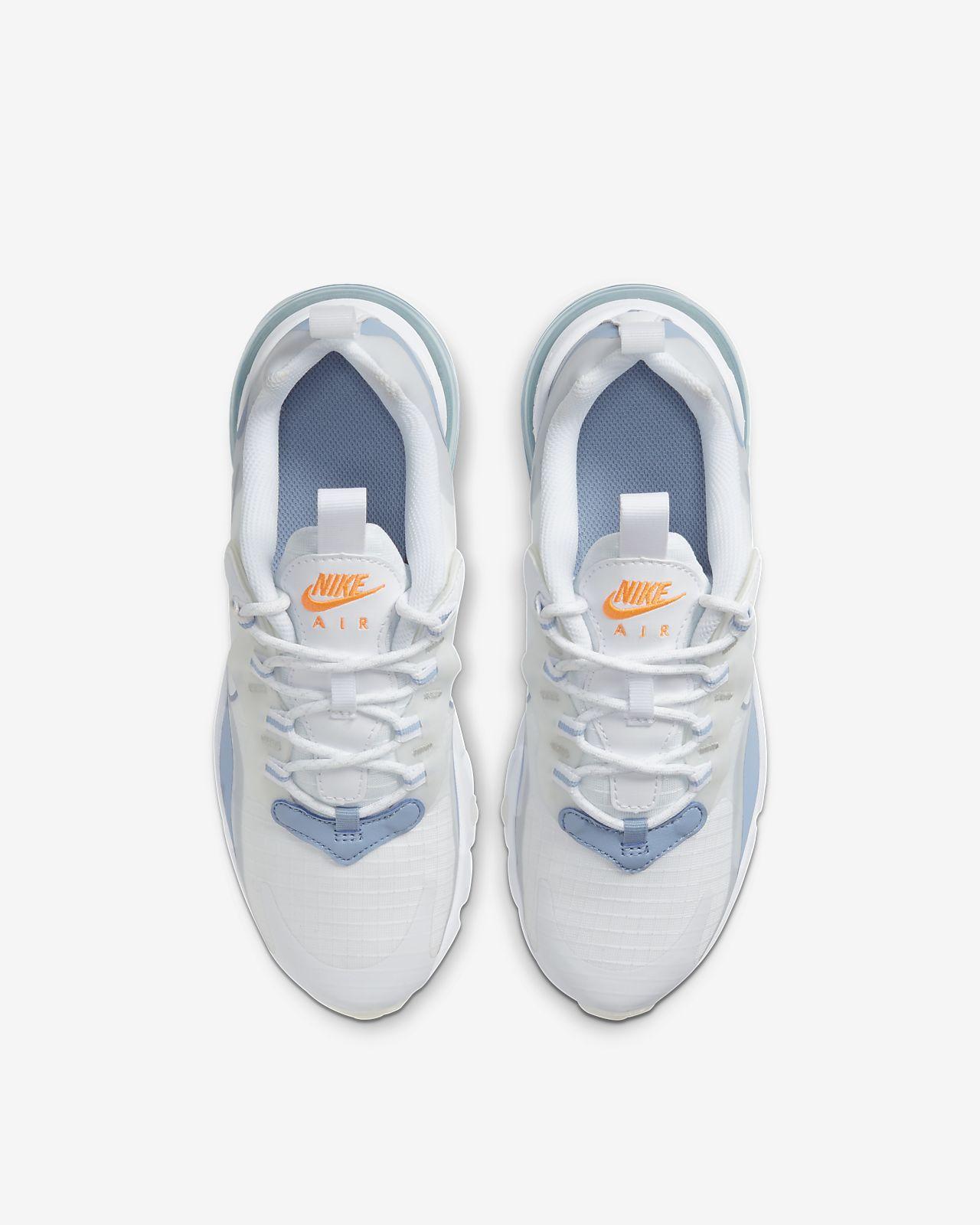 Nike Air Max 270 React Big Kids Shoe Nike Com In 2021 Kids Shoes Sneakers Men Fashion Nike Air Shoes
