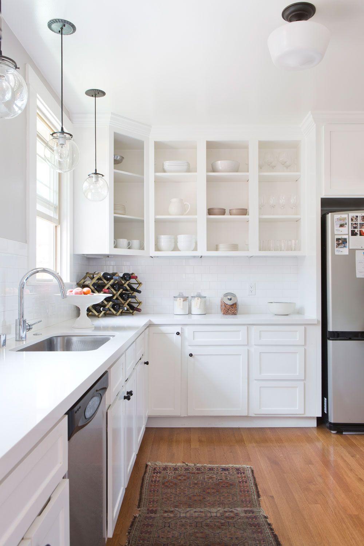 10 open shelving kitchen ideas  hunker  open kitchen