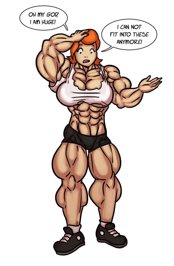 Prize For Cactusjoe999 By Ritualist On Deviantart Muscular Women Muscle Girls Muscles Comic