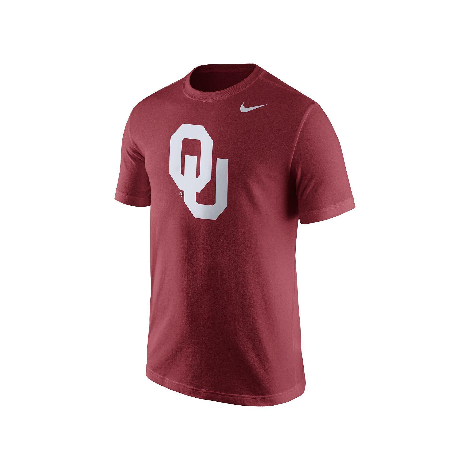 29898667aa Nike Men's Oklahoma Sooners Logo Tee | Oklahoma sooners and Products