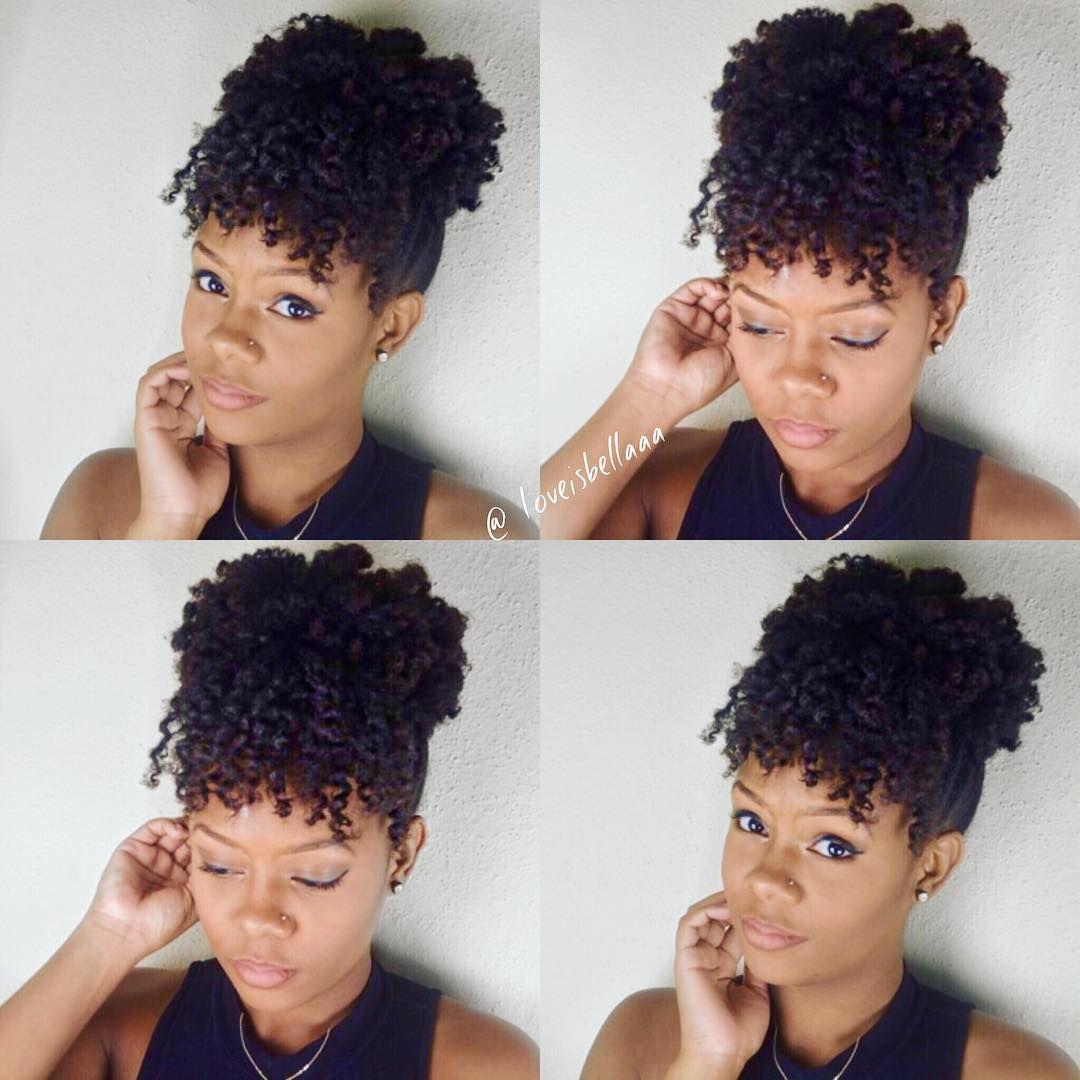 3 Quick Everyday Natural Hair Styles Natural Hair Updo
