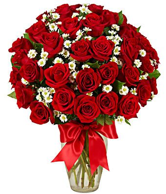 3 Dozen Roses Red Roses Same Day Flower Delivery Valentines Flowers