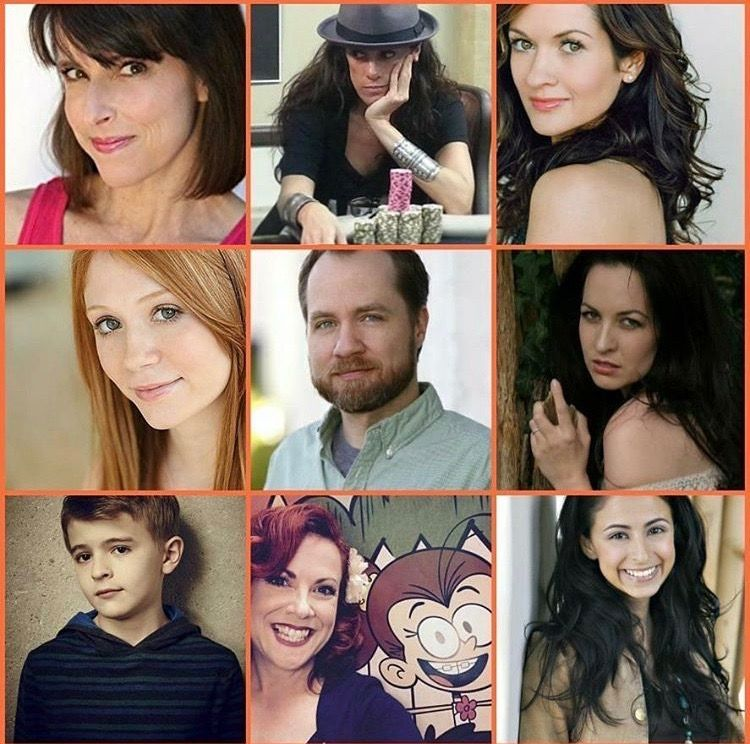 Chris Savino and the voice actors | The Loud House | Voice