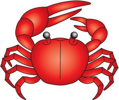 pin by angela ortiz on animales p pinterest clip art rh pinterest com au free cartoon crab clipart