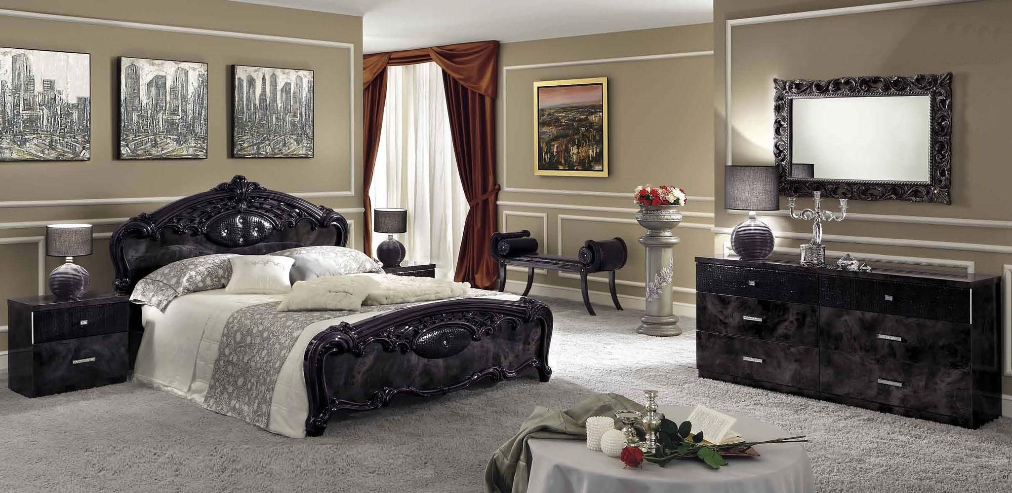 Italian bedroom decor - Sexy Swanky Italian Moda Bedroom Set