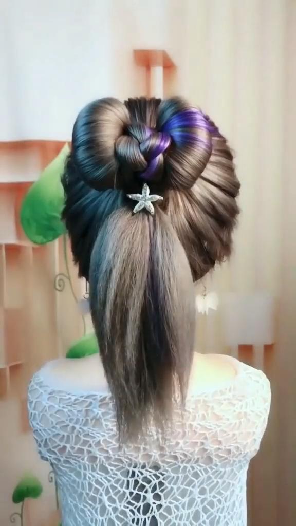 Easy Hairstyle Easy Hairstyle In 2020 Easy Hairstyles Easy Hairstyle Video Hair Braid Videos