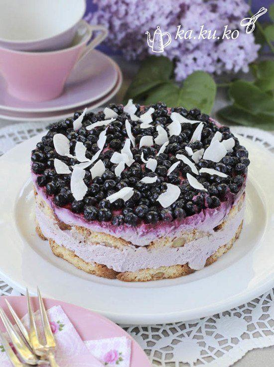 heidelbeer joghurt torte ohne backen kuchen pinterest backen torte ohne backen und kuchen. Black Bedroom Furniture Sets. Home Design Ideas