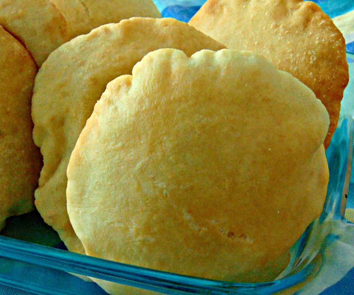 This is version of bread that they make in Trinidad to use