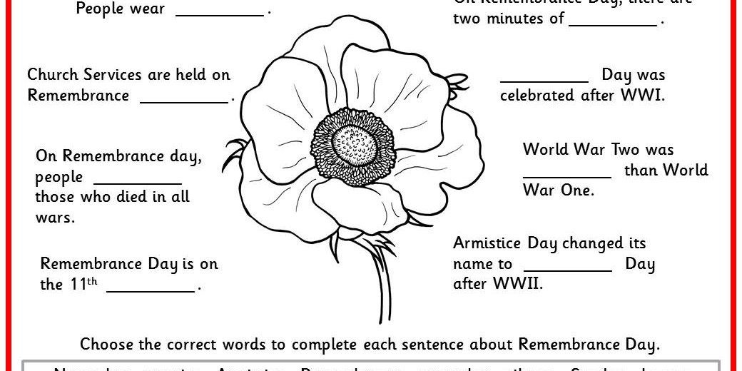 Remembrance Day Facts - Classroom Secrets | Classroom Secrets