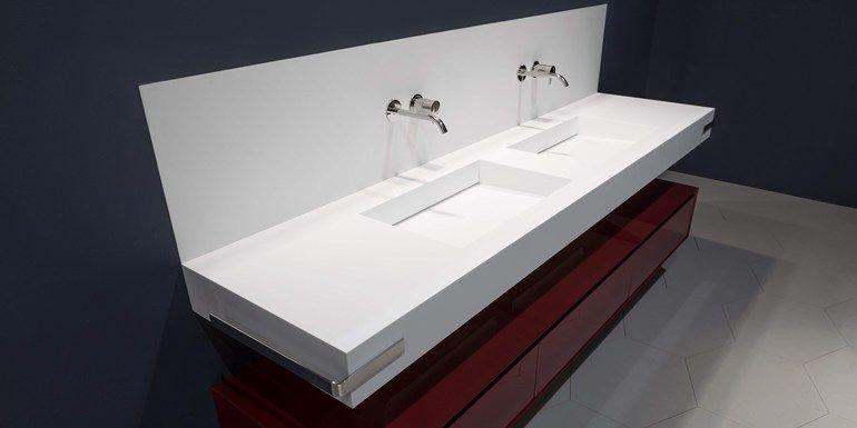 Corian Waschbecken waschbecken aus corian slot antonio lupi design bathrooms