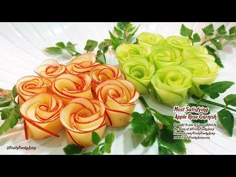 Kunst In Rettich Karotten Rosen Design Beste Gemüse Blume