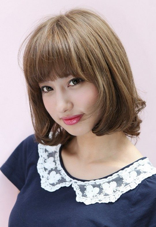 Remarkable 1000 Images About Bangs On Pinterest Bang Hairstyles Straight Short Hairstyles For Black Women Fulllsitofus