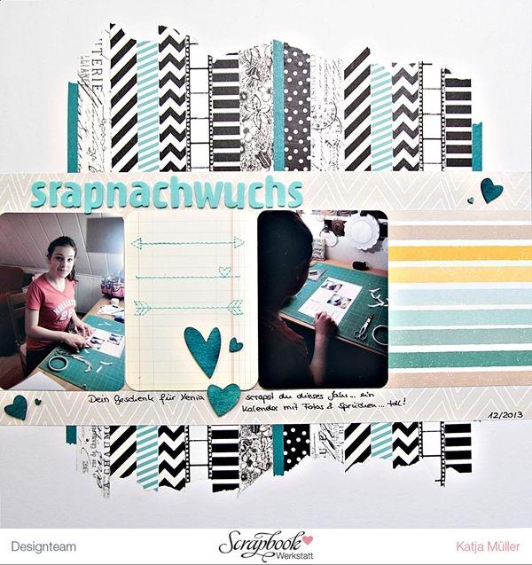 Designteamarbeit SBW Studio Calico - Printshop Layout von Katja Müller