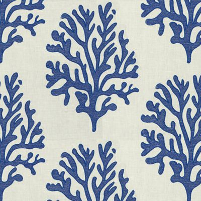 Seafan in True Blue by Lilly Pulitzer from Lee Jofa