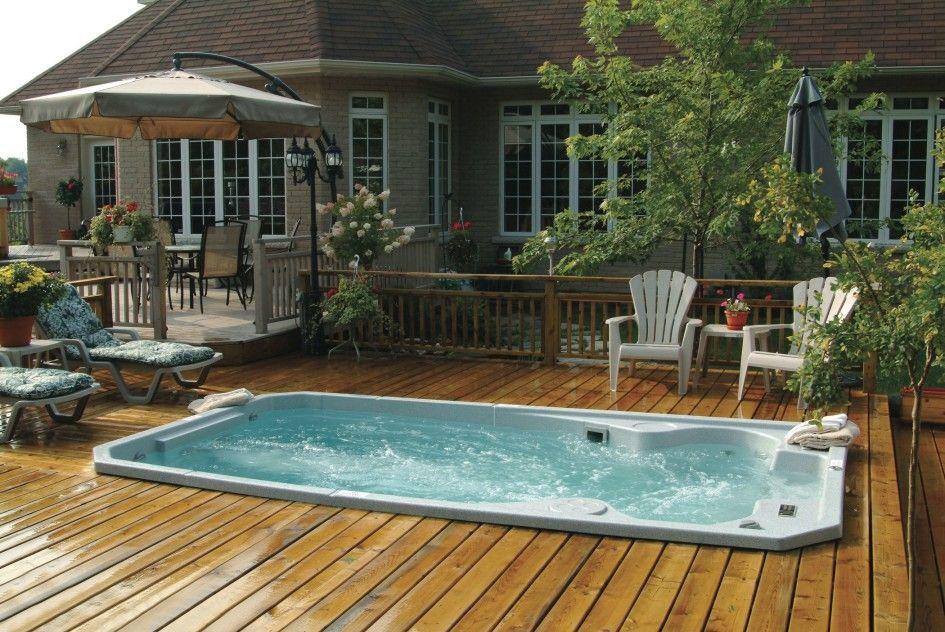 Pool decks stylish above ground pool decks attached to for Above ground pool decks attached to house