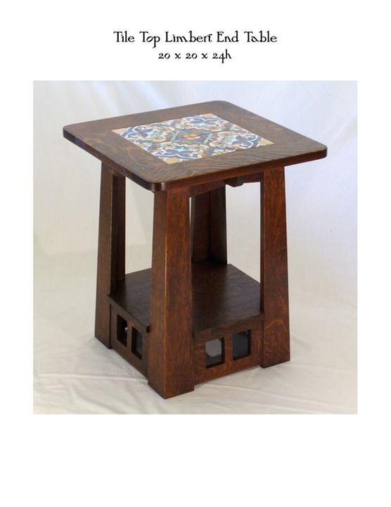 Attirant Tile Top Limbert End Table