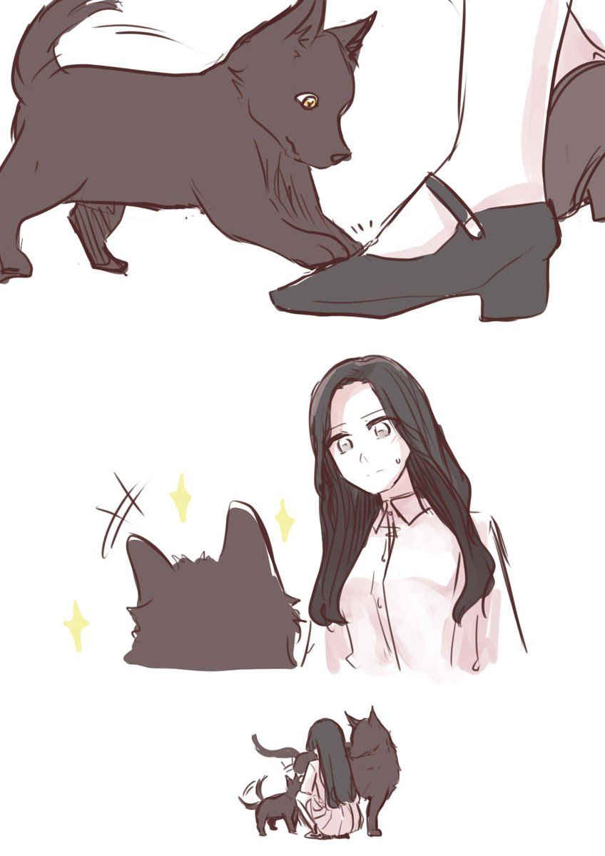 ちーちゃん54 On Kpop Fanart Wolf Base Fan Art
