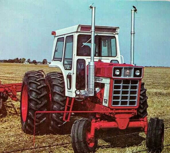 Ih 1468 V 8 International Harvester Tractors Classic Tractor Vintage Tractors