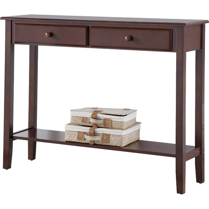 Clairsville Console Table Wooden Console Table Sofa Table With