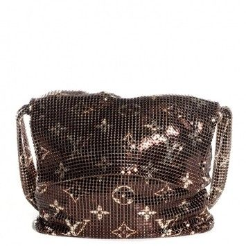 709febf2dc49 Get one of the hottest styles of the season! The Louis Vuitton (new)  Monogram Mesh Metal Shoulder Bag is a top 10 member favorite on Tradesy.
