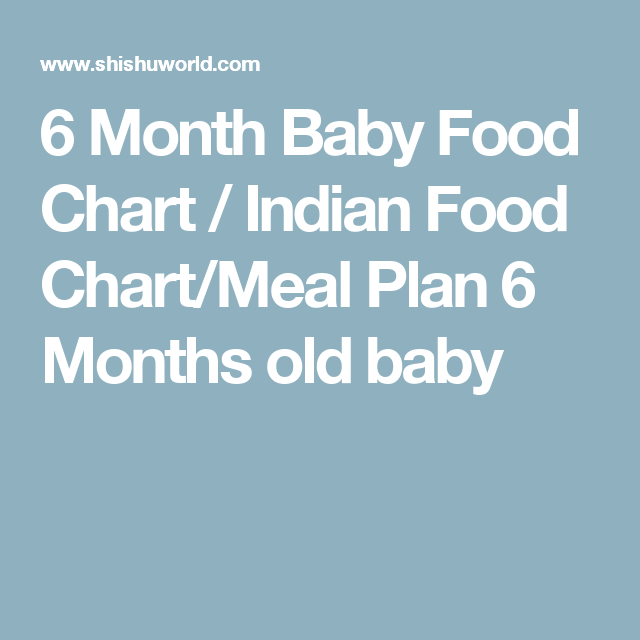 6 month baby food chart indian food chartmeal plan 6 months old 6 month baby food chart indian food chartmeal plan 6 months old baby forumfinder Choice Image