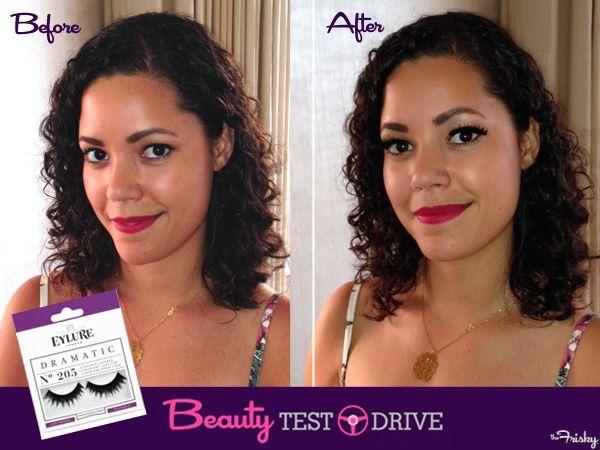 e1b2bce19f5 Beauty Test Drive: Eylure Dramatic No. 205 False Lashes | Beauty ...