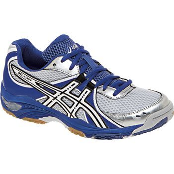 Royal/White/Silver ASICS Women's GEL-1130V Volleyball Shoes