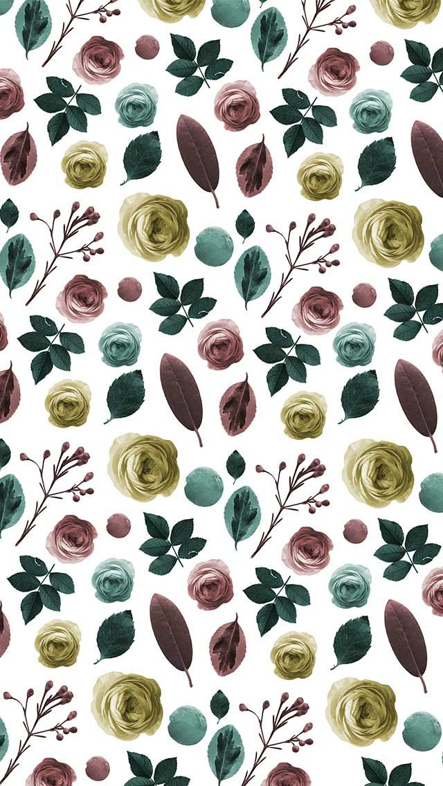 Vintagestyle bloom Mobile and desktop wallpapers