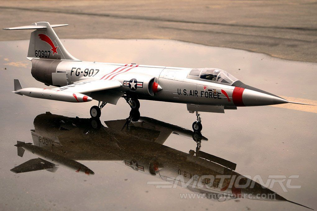 Freewing F-104 Starfighter Silver 90mm EDF Jet - PNP | Al's RC