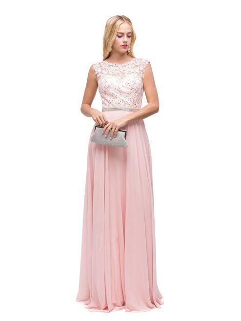 Dancing Queen 9675 Bridesmaid Long Dress | Queens