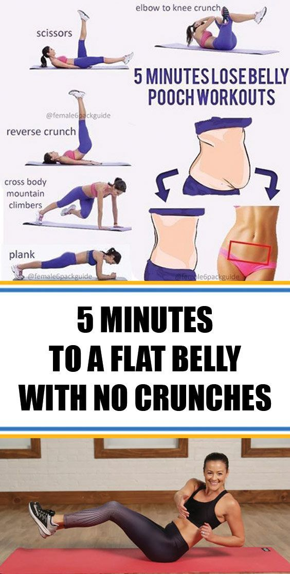 ★★★★★ 56 reviews:5 Minutes to a Flat Belly With No Crunches! | Fitness time! It's time