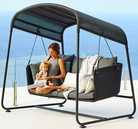 looms rattan m bel pforzheim nice to have hollywoodschaukel cave schaukel pinterest. Black Bedroom Furniture Sets. Home Design Ideas