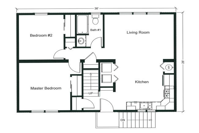 17 best images about floor plans on pinterest | one bedroom, small