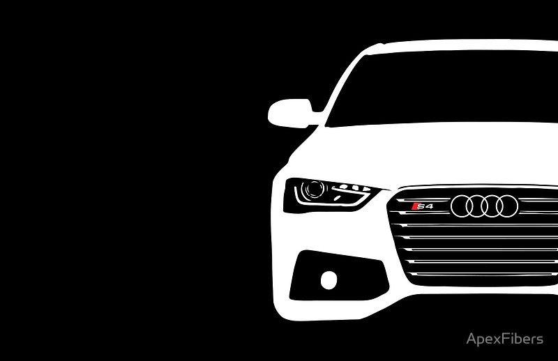 Simple German Sedan Front End Design Poster By Apexfibers Audi Audi S4 Bmw M4 Cabrio