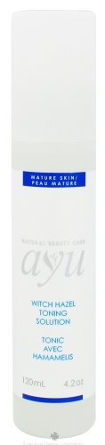 AYU Natural Beauty Care Toning Solution Witch Hazel - 4.2 Oz, 2 Pack by AYU Natural Beauty Care. $19.72. Attributes: Kosher, Vegan, Dairy Free, Yeast Free, (Please check the manufacturer's details for contents as we are unable to guarantee ingredient details and they may change without notice).. Quantity: MULTI VALUE PACK! You are buying Description: TONING SOLUTN,WITCH HAZEL Unit Size: 4.2 OZ Brand: AYU NATURAL BEAUTY CARE. DOUBLE VALUE PACK! You are buying TWO of Toning Solu...