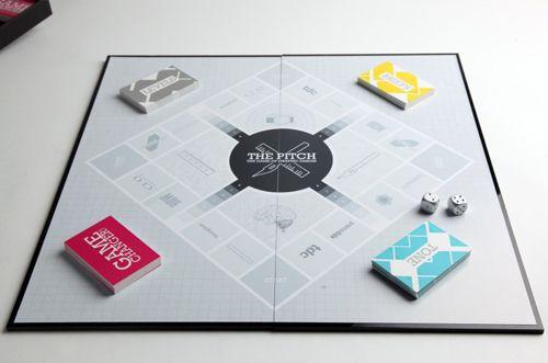 In The Press: Graphic Design Board Game by Fatimah Kabba | Board ...