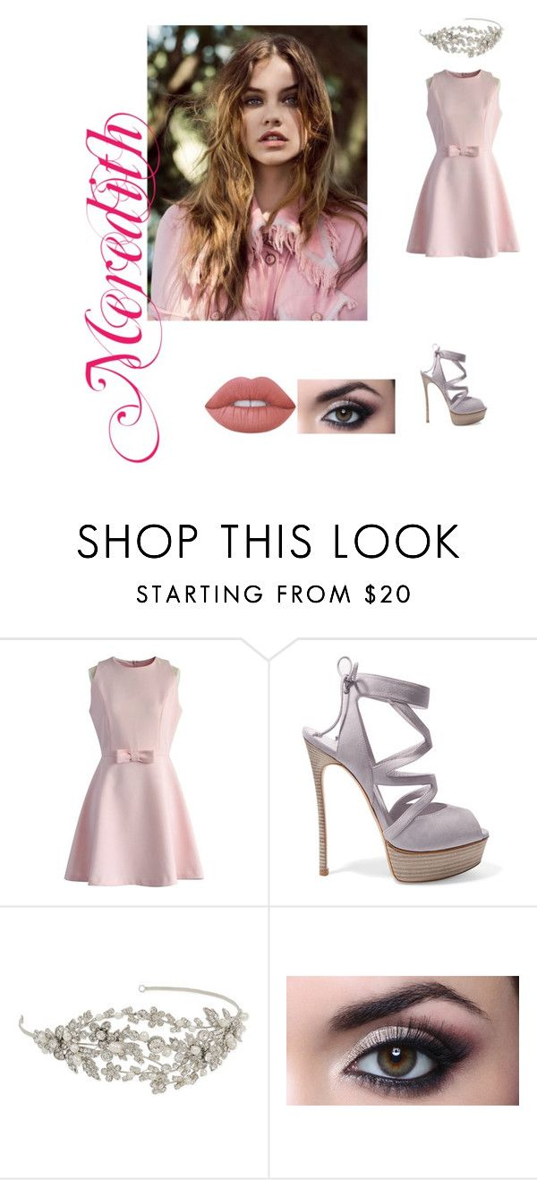 """Monsters - 1"" by luanaloverocks ❤ liked on Polyvore featuring Chicwish, Casadei, RTR Bridal Accessories and Lime Crime"