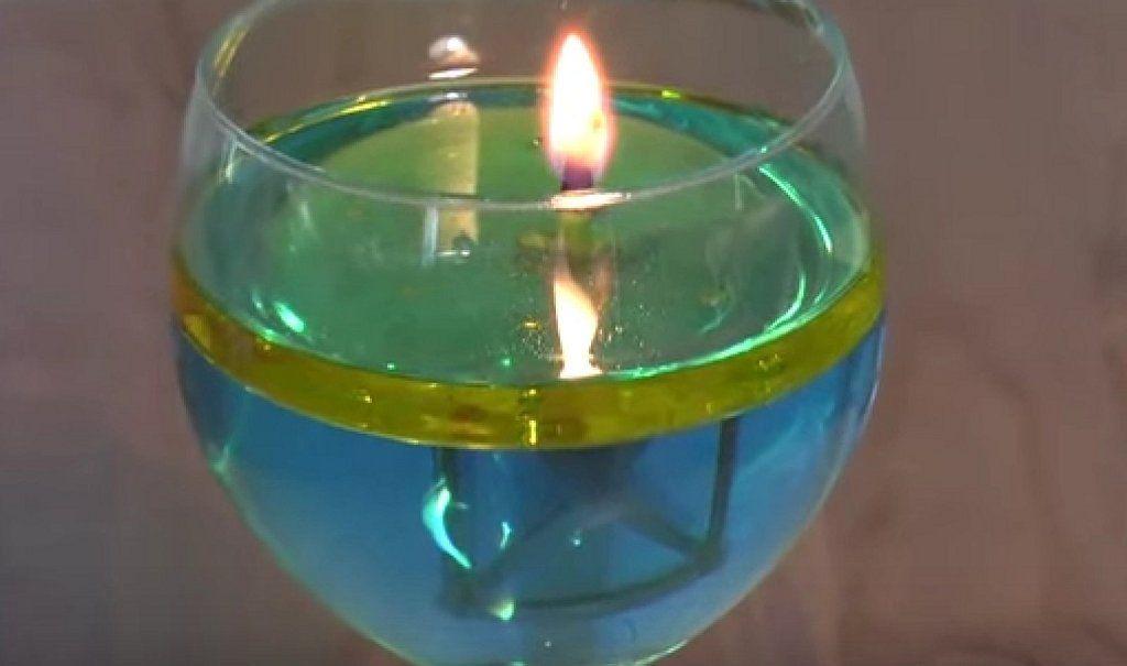 C mo hacer velas de agua y aceite en unos minutos hacer velas velas y c mo hacer - Velas de agua ...