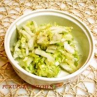 Quick-Pickled Chinese Cabbage ✪ Namul Style ✪